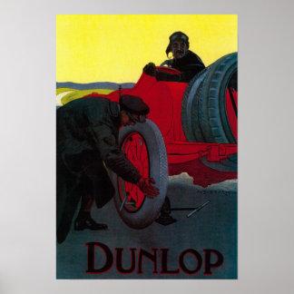 Vintage PosterEurope de Dunlop Póster