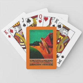 Vintage PosterEurope de Milano de los Di de Cartas De Póquer