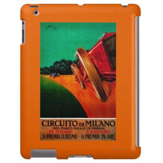 Vintage PosterEurope de Milano de los Di de Funda Para iPad