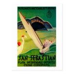 Vintage PosterEurope de San Sebastián Tarjetas Postales