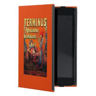 Vintage PosterEurope del ajenjo del término iPad Mini Carcasa