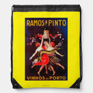 Vintage PosterEurope del Pinto de Ramos Mochila
