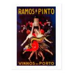 Vintage PosterEurope del Pinto de Ramos Postal