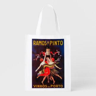 Vintage PosterEurope del Pinto de Ramos Bolsa Reutilizable