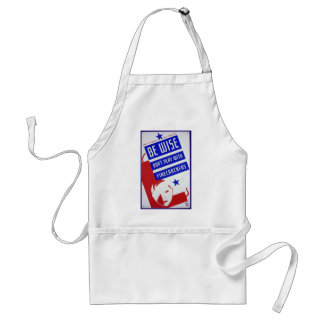 Vintage Posters - Don t Play With Firecrackers Apron