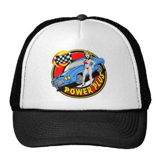 Vintage Power Plus Retro Muscle Car Trucker Hat