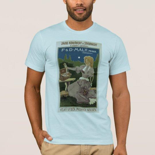 Vintage Praha Jewelry and Silverware Ad T-Shirt