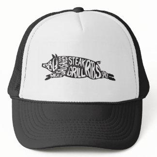 Vintage Praise the Lard Funny Pig Trucker Hat