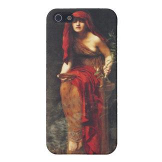 Vintage Pre-Raphaelite iPhone Case