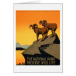VIntage Preserve Wildlife Poster