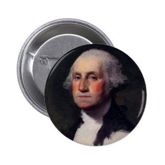 Vintage President portrait of George Washington 2 Inch Round Button