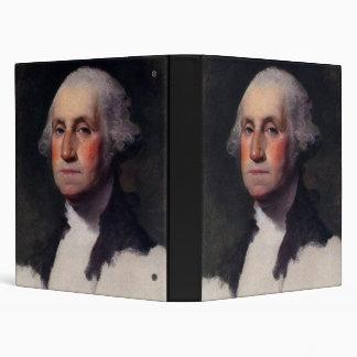 Vintage President portrait of George Washington 3 Ring Binder
