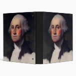 Vintage President portrait of George Washington Binder