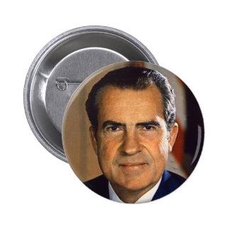 Vintage President Richard Nixon Campaign Art Button