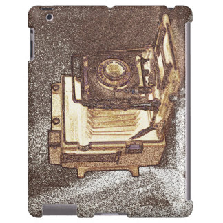 Vintage Press Camera Barely There iPad Case