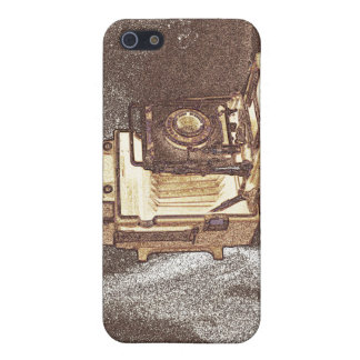 Vintage Press Camera iPhone 5/5S Matte Finish Case iPhone 5 Covers