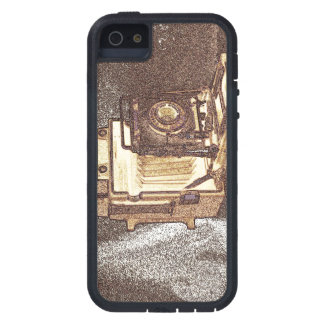 Vintage Press Camera iPhone 5/5S, Tough Xtreme iPhone 5 Cover