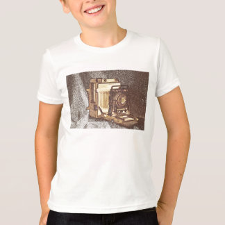 Vintage Press Camera Kid's T-shirt