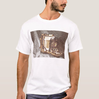 Vintage Press Camera Men's T-Shirt