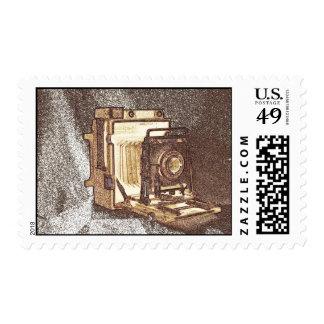 Vintage Press Camera Stamp