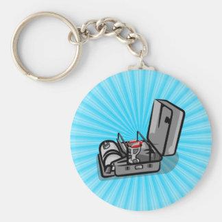Vintage Pressure Camp Stove Keychain