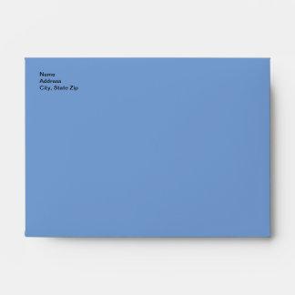 Vintage Pretty Blue Fairy Stockings Blue Moon Envelope