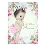 Vintage Princess Baby Shower Custom Invitation