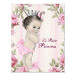 Vintage Princess Baby Shower Custom Invitations