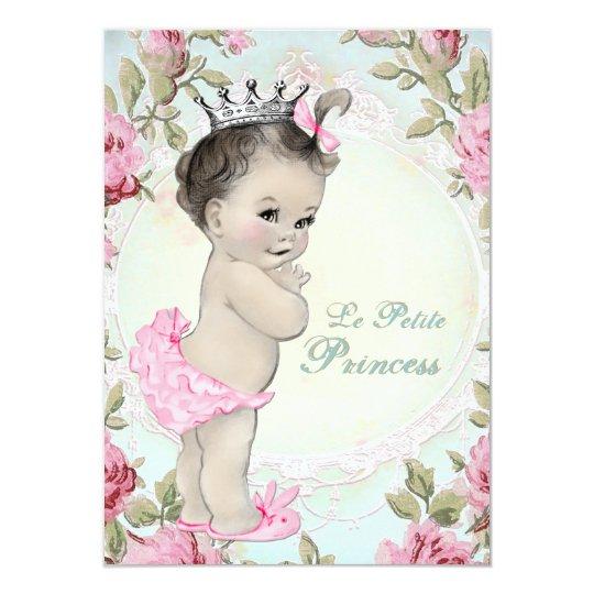 Vintage princess baby shower invitation zazzle vintage princess baby shower invitation filmwisefo