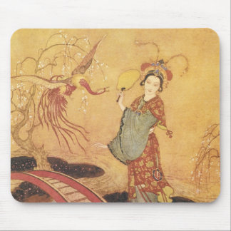 Vintage Princess Badoura Fairy Tale Edmund Dulac Mouse Pad