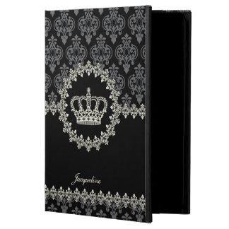 Vintage Princess Damask Crown iPad Air Case