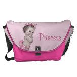 Vintage Princess Pink Baby Diaper Bag at Zazzle