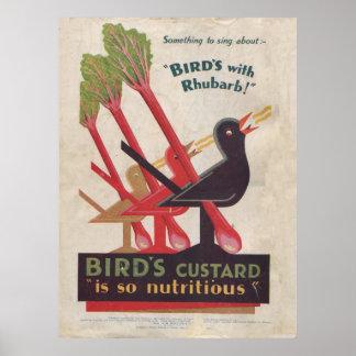 vintage print ad BIRD'S CUSTARD