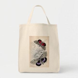 Vintage Print - Lepidoptera - Moths & Butterflies Bag