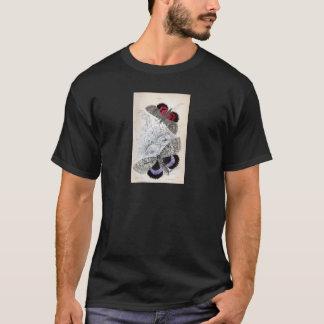 Vintage Print - Lepidoptera - Moths & Butterflies T-Shirt