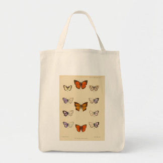 Vintage Print - New Indian lepidoptera Bags