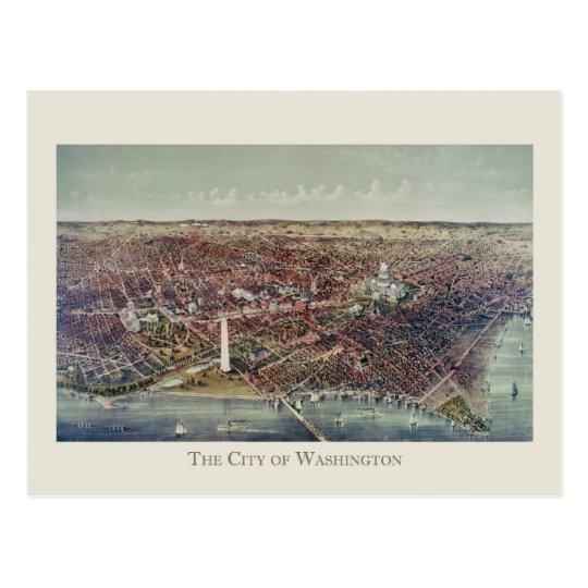 Vintage Print of Washington, D.C. Postcard