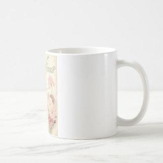 vintage printable carnations ephemera jpg coffee mug