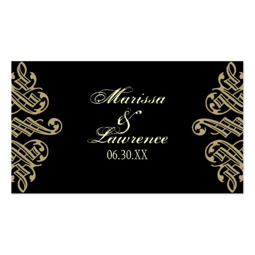Vintage Printers Ornament Wedding Favor Gift Tags Business Card Templates