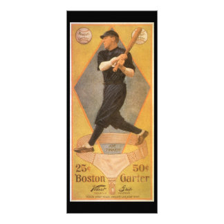 Vintage Product Label Art, Boston Garter for Socks Rack Card