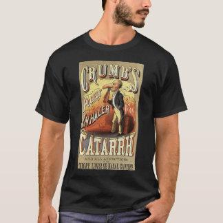 Vintage Product Label Art, Crumb's Pocket Inhaler T-Shirt