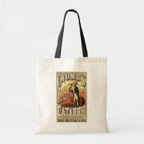 Vintage Product Label Art, Crumb's Pocket Inhaler Tote Bag