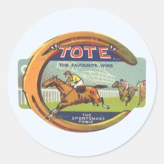 Vintage Product Label Art, Tote Sportsman's Tonic