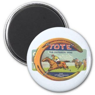 Vintage Product Label Art, Tote Sportsman's Tonic Magnet