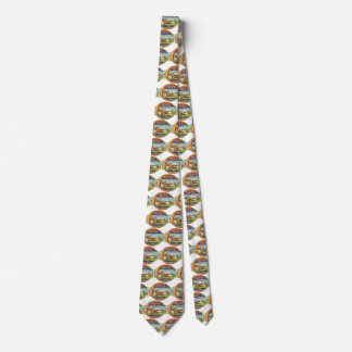 Vintage Product Label Art, Tote Sportsman's Tonic Neck Tie
