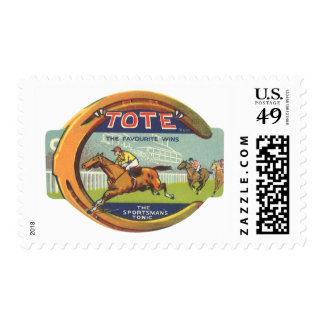 Vintage Product Label Art, Tote Tonic Stamp