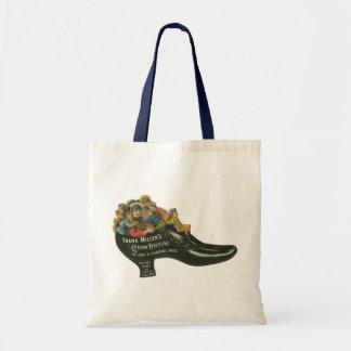 Vintage Product Label, Frank Miller's Shoe Polish Tote Bag