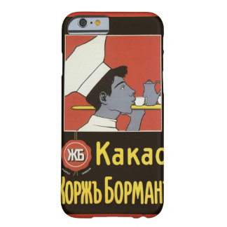 Vintage Product Label, Kakao Russian Hot Chocolate Barely There iPhone 6 Case