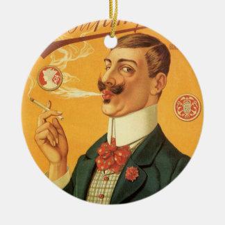 Vintage Product Label Russian Tobacco Cigarettes Ornament