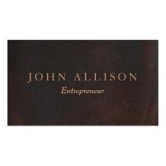 Vintage profesional ejecutivo de la mirada del plantillas de tarjeta de negocio
